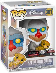 Rafiki avec Simba (Glitter) - Funko Pop! n°301