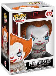 Pennywise (avec bateau) - Funko Pop! n°472