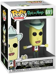 Saison 4 - Mr. Poopy Butthole Auctioneer - Funko Pop! n°691