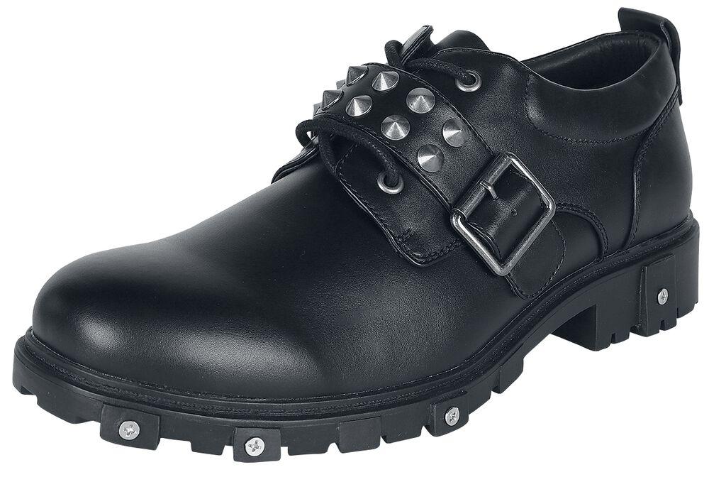 Chaussures Noires Cloutées
