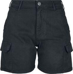 Short Cargo Taille Haute
