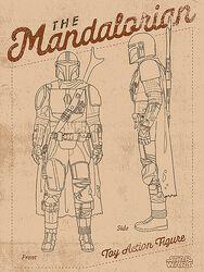 The Mandalorian - Action Figure