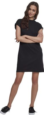 Robe Col Montant Manches Courtes