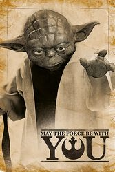 Yoda, May The Force Be With You