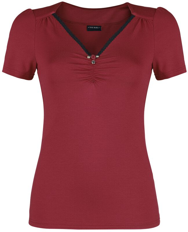 T-Shirt Rouge Lilly