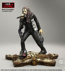 Rob Zombie Rock Iconz Statue