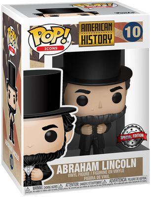 American History - Abraham Lincoln - Funko Pop! n°10