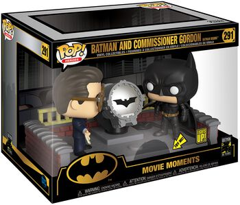 80th - Batman & Commissaire Gordon (Movie Moment) - Funko Pop! n°291