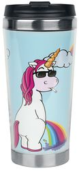 Cool Unicorn - Rainbow