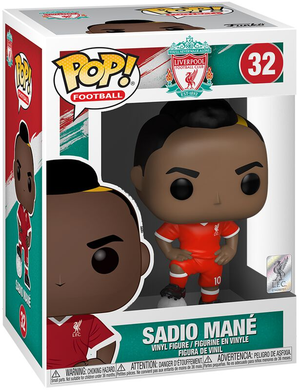 Football FC Liverpool -Sadio Mane - Funko Pop! n°32