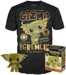 Gizmo En Gremlin - T-Shirt + Funko - Pack Fan