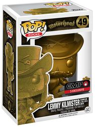 Figurine En Vinyle Lemmy Kilmister Rocks (Golden) 49