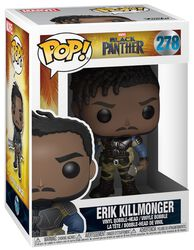 Figurine En Vinyle Erik Killmonger 278 (Chase Possible)