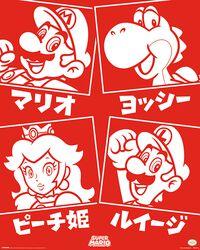 Super Mario (Personnages Japonais)