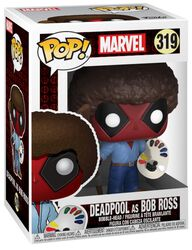 Deadpool en Bob Ross - Funko Pop! n°319