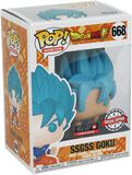 Dragon Ball Super - SSGSS Goku - Funko Pop! n°668