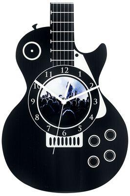 Acrylic Wall Clock  Guitare