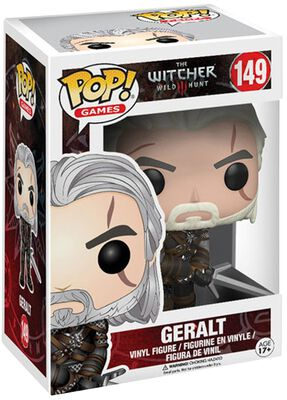 The Witcher 3 - Geralt - Funko Pop! n°149
