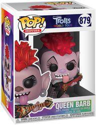 Les Trolls : Tournée Mondiale - Queen Barb - Funko Pop! n°879