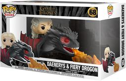 Daenerys and Fiery Drogon (POP Rides) - Funko Pop! n°68