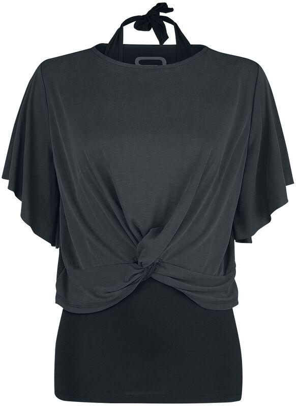 T-Shirt Avec Haut Dos Nu