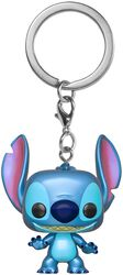 Stitch (Métallique) - Pop! Keychain