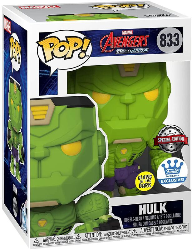 Mech Hulk (Funko Shop Europe) (GITD) - Funko Pop! n°833