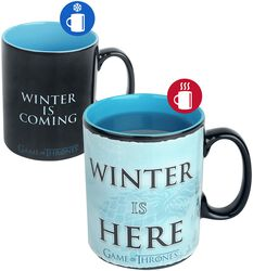 Winter is here - Mug Thermoréactif