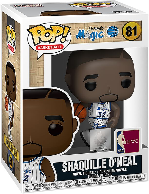 Orlando Magic - Shaquille O'Neal - Funko Pop! n°81