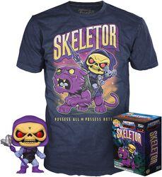 Skeletor - Pop! + T-Shirt (GITD)