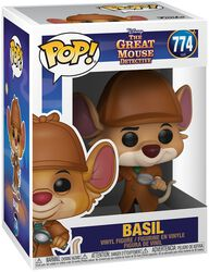 Basil the Great Mouse Detective Basil - Funko Pop! n°774
