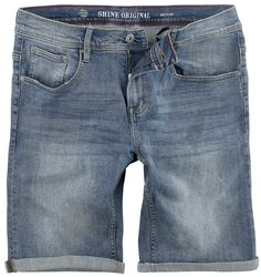 Regular Fit Denim Shorts Motor Blue