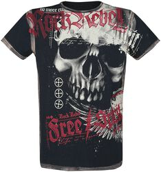 T-Shirt Avec Crâne Imprimé