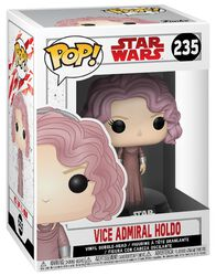 Épisode 8 - Les Derniers Jedi - Figurine En Vinyle Bobblehead Vice Amiral Holdo 235