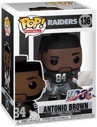 Raiders - Antonio Brown - Funko Pop! n° 136