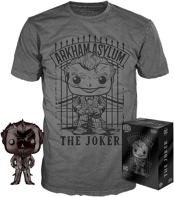 Joker Chrome - Pop! + T-Shirt