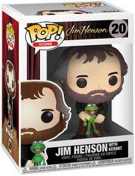 Jim Henson avec Kermit - Funko Pop! n°20