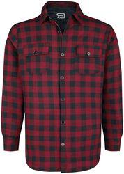 Chemise À Carreaux Noir/Rouge