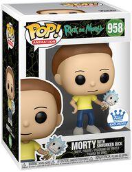 Morty Avec Petit Rick (Funko Shop Europe) - Funko Pop! n°958