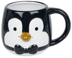 Tasse 3D - Pingouin
