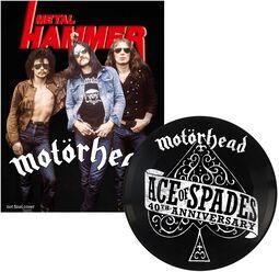Metal Hammer - Motörhead Sammler-Ausgabe A3 - Ace of Spades 7 Inch Picture Disc)