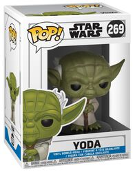 Figurine En Vinyle Clone Wars - Yoda 269