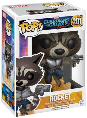 2 - Figurine En Vinyle Rocket 201
