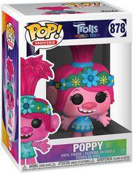 Les Trolls : Tournée Mondiale - Poppy - Funko Pop! n°878