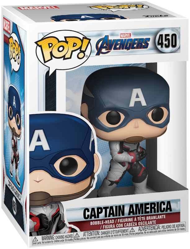 Endgame - Captain America - Funko Pop! n°450