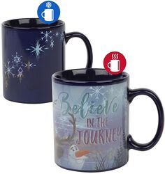 Believe In The Journey - Mug Thermoréactif