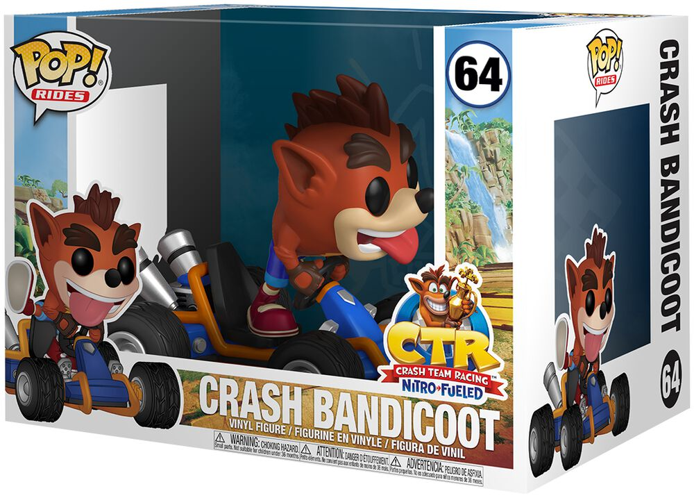Crash Bandicoot - Funko Pop! Rides n°64