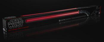 The Black Series - Asajj Ventress - Sabre Laer Force FX