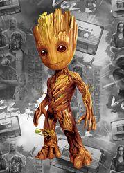 Plaque - Baby Groot