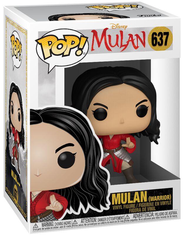 Mulan (Warrior) - Funko Pop! n°637